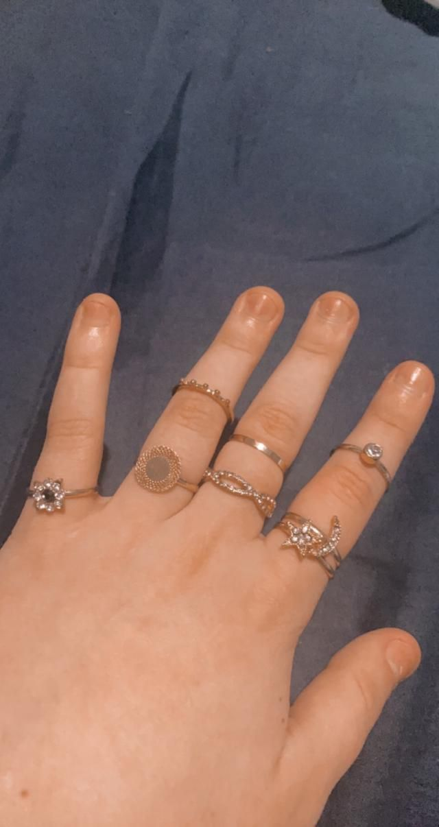 All these rings are so cute, some of them are adjustable and some aren't, Looks exaclty like the pictures,  Fits well,…