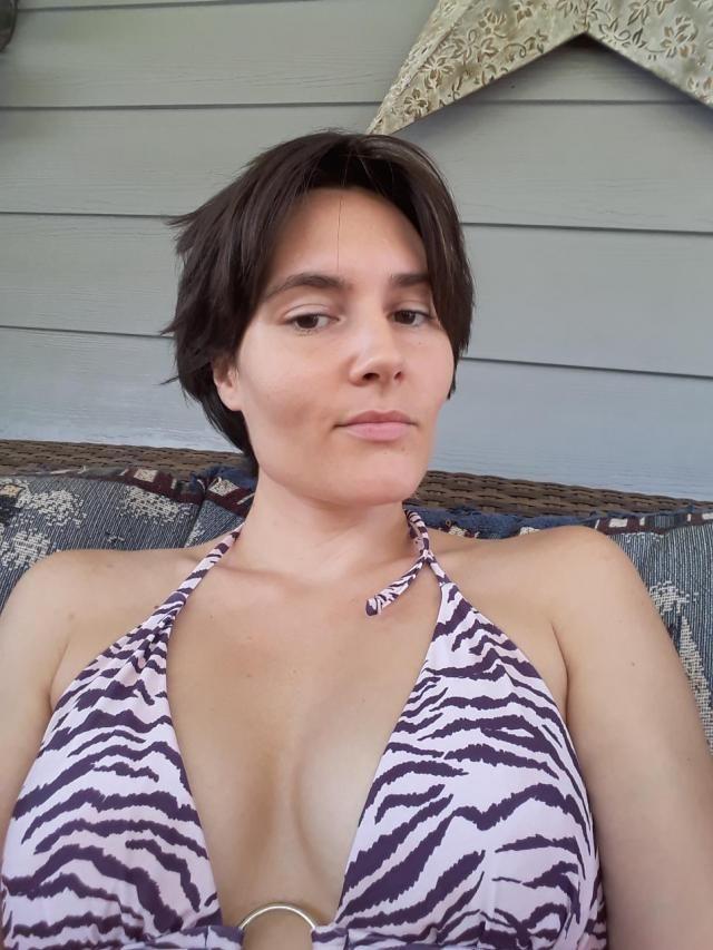 very cute bikini, not too revealing on the bottom, nice cut on the top im 34b and I look huge lol