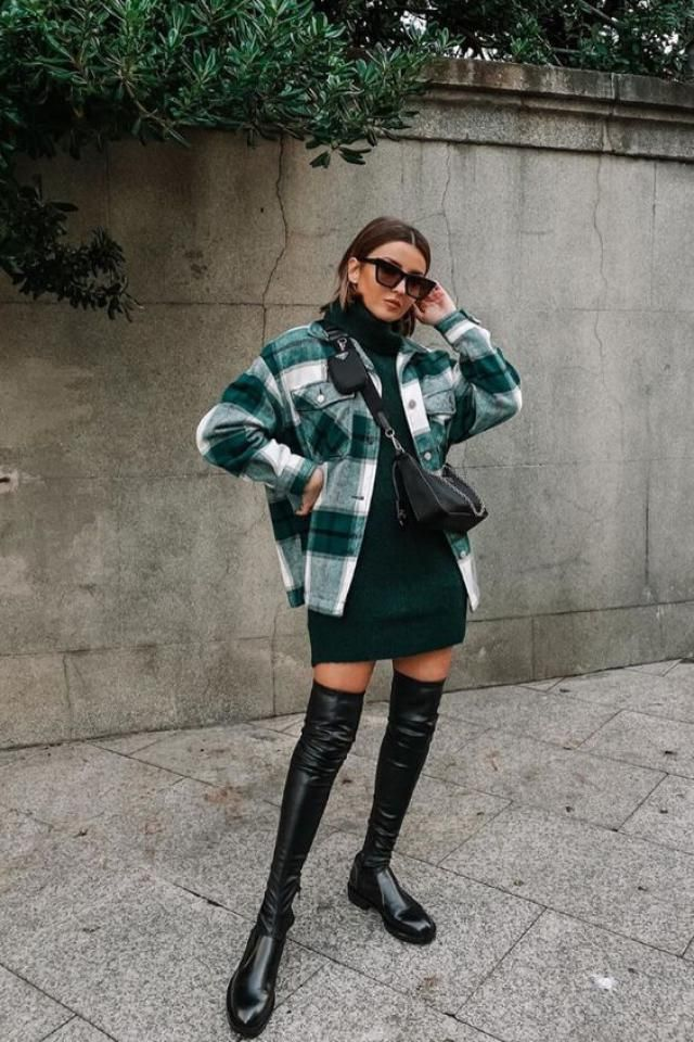 ZAFUL Plaid Pockets Coat   Buy these gorgeous plaid coats and dress from Zaful. A perfect fall and winter fashion. Sh…