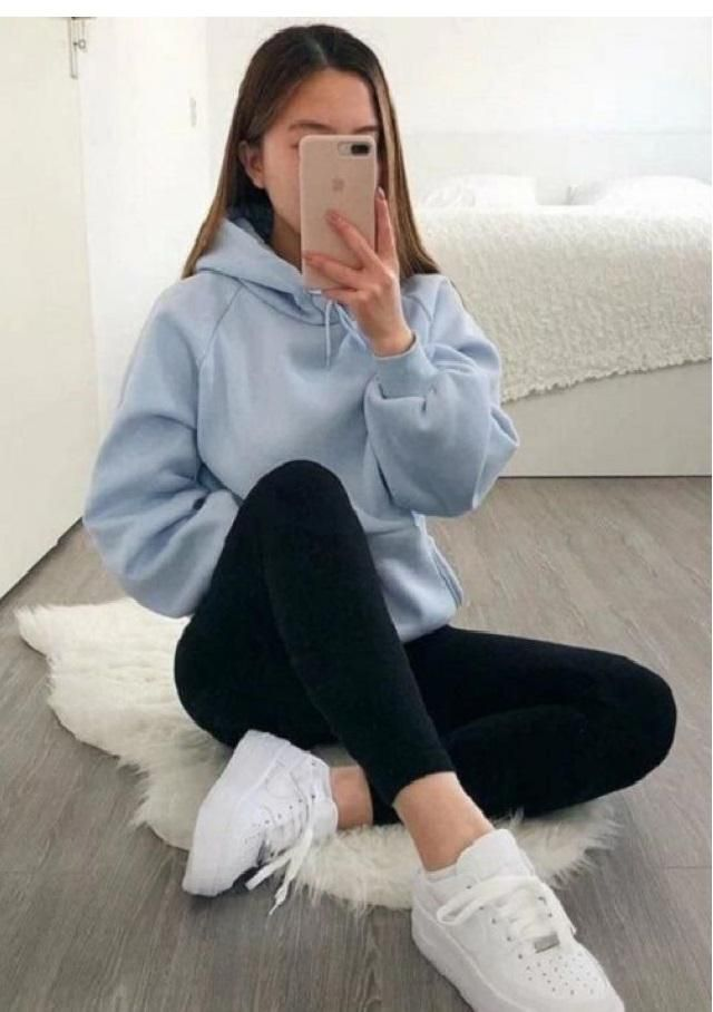ZAFUL Front Pocket BABY GIRL Oversized Hoodie