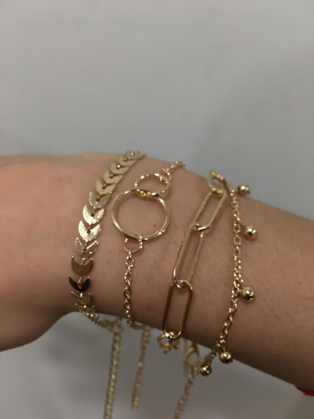 I really like these bracelets, they look exactly like the picture.