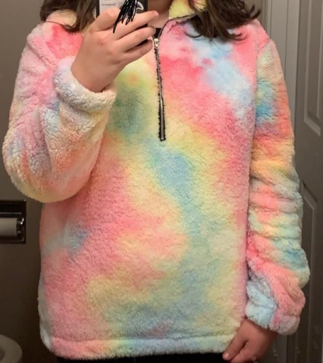 Comfortable and of fantastic material IT IS SO SOFT AND CUTE! I was so excited getting it in the mail