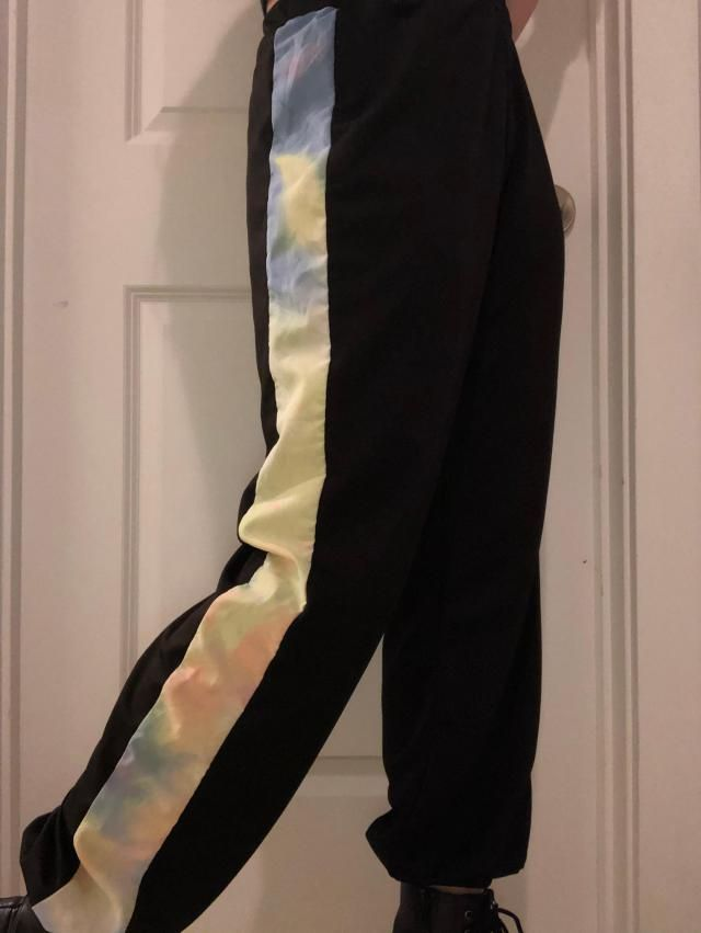 So comfortable, stretchy, and light weight, I wear these all the time. They have add the right pop of color to any out…
