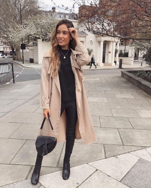 ZAN.STYLE Longline Silhouette Double Breasted Belted Trench Coat   Buy these a perfect trench coat  from Zaful. A per…
