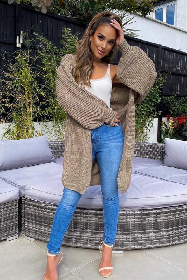 Textured Open Front Solid Cardigan A perfect  cardigans from Zaful.Buy Here ! Large selection of clothes for autumn an…