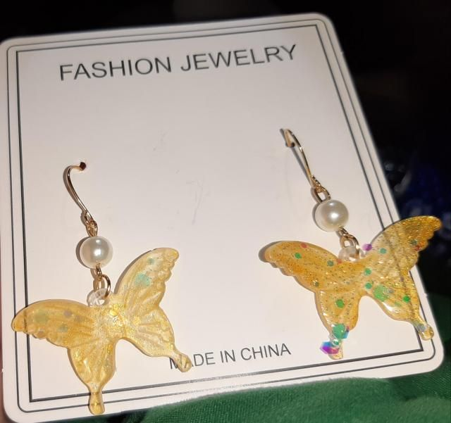 Really cute. I like how they have a sort of a iridescent feel to them.  Looks exaclty like the pictures