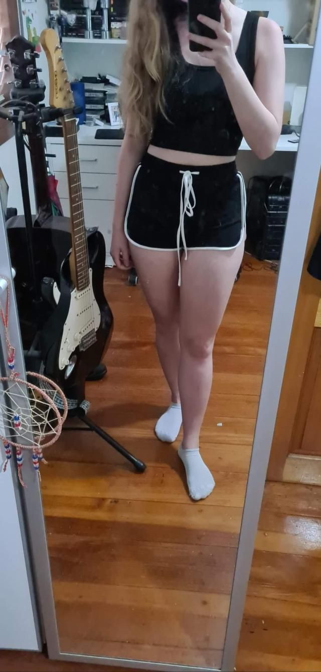 true to size & fits well, material is a little different from what i expected but still super cute and com…