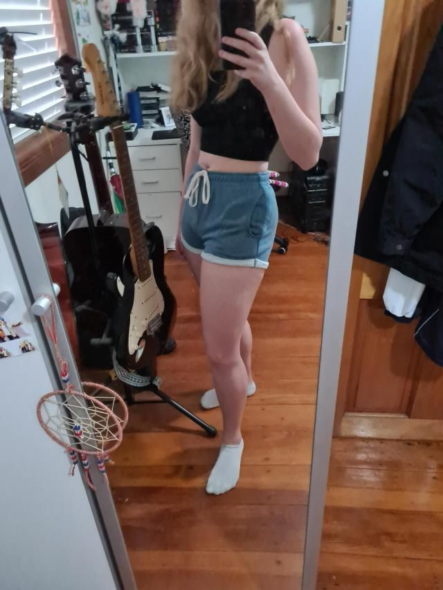 really cute & comfortable but it runs small. im usually an S/M in shorts but i got an L in this and honest…