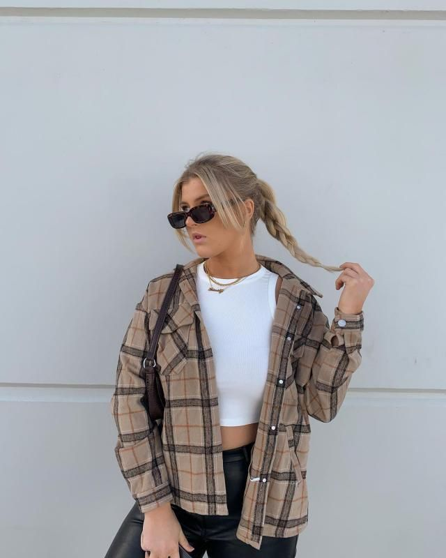 LIVING FOR PLAID SHIRTS! and you can get this one here in ZAFUL!!
