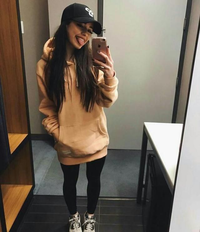 Ripped Slip Pocket Long Sleeve Hoodie Dress  Wonderful hoodie  dress , clothes for autumn and winter in Zaful.