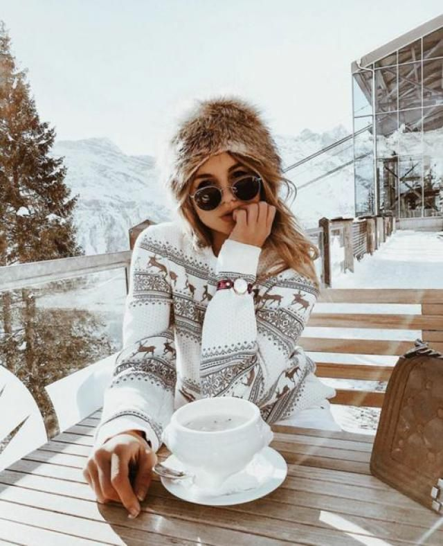 Heathered Snowflake Zig Zag Christmas Sweater Merry Christmas with Zaful clothes!