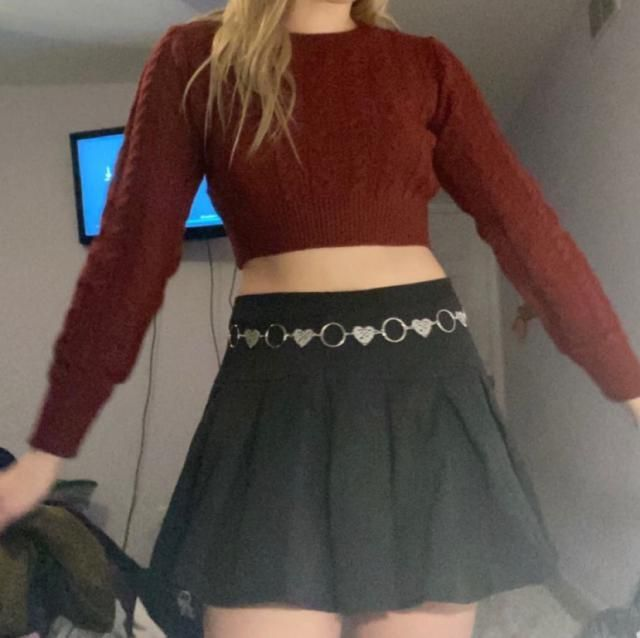 skirt and belt also from zaful Super cute Fits well