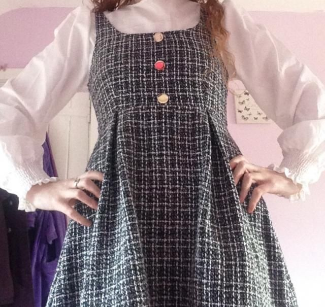 I love this it will be Perfect for work but still is cute and pretty it\'s very comfy and of good thick fabric so it w…