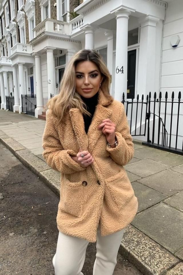 Wonderful teddy coat from Zaful.