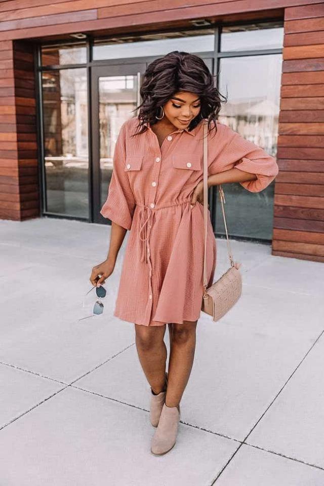 Wonderful shirt dress