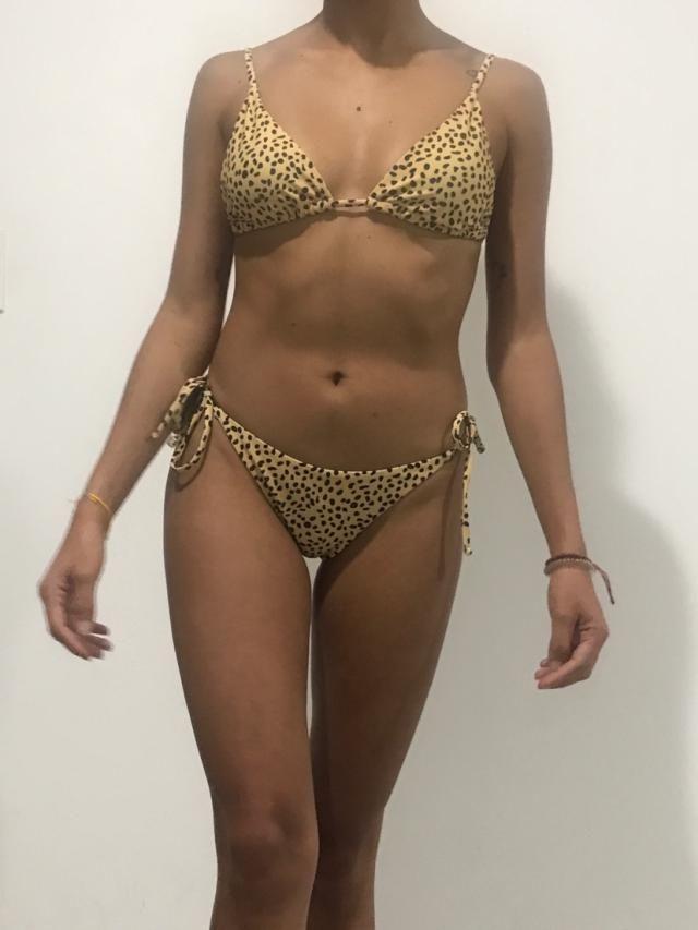 Me gusta mucho este bikini. ¡No puedo esperar para usarlo!