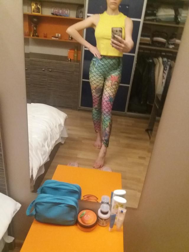 Lovely leggings, comfortable and sparkle!  Definitely recommend