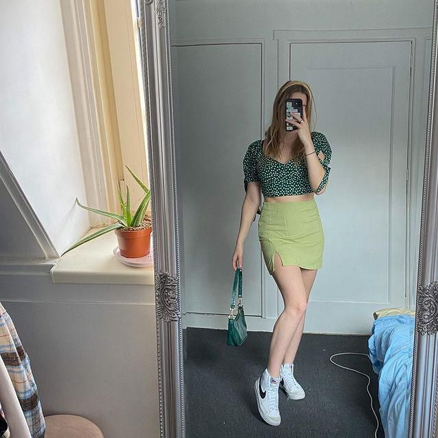 Green like spring! get this pretty green outfit here in ZAUFL!♥
