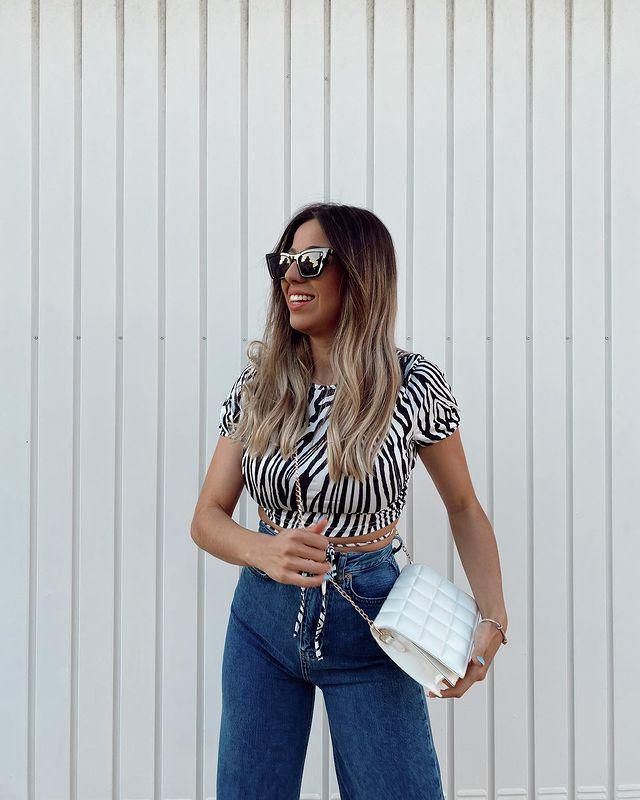 SPRING MEANS ANIMAL PRINTS! and you can get this zebra top and this bag here in zaful!♥
