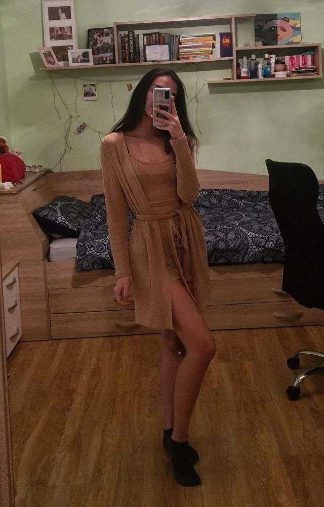 Quite comfy. It&;s a bit see-through so you&;ll have to wear nude underwear. Overall it fits great and would recommend