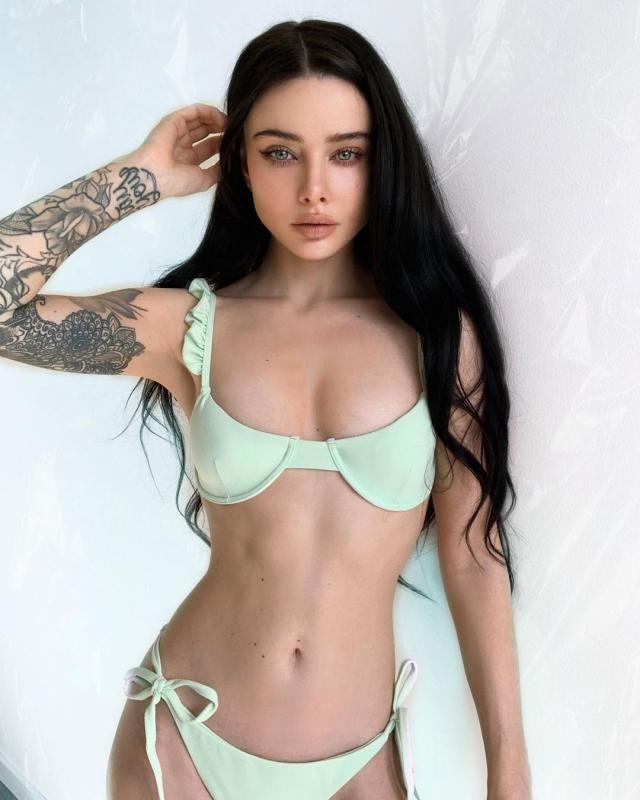 BIKINI SEASON! GET THIS ZAFUL Frilled Textured Tie Underwire Bikini Swimsuit - Mint Green!♥