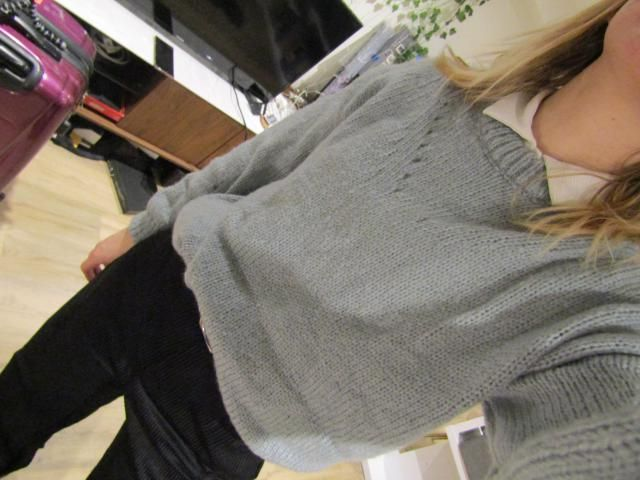 Arrived just when the weather got nicer but I already look forward to an occasion to wear this! Super soft and warm, g…