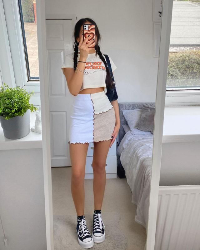 SKIRT FOR SPRING! get this cute skirt here in ZAFUL!