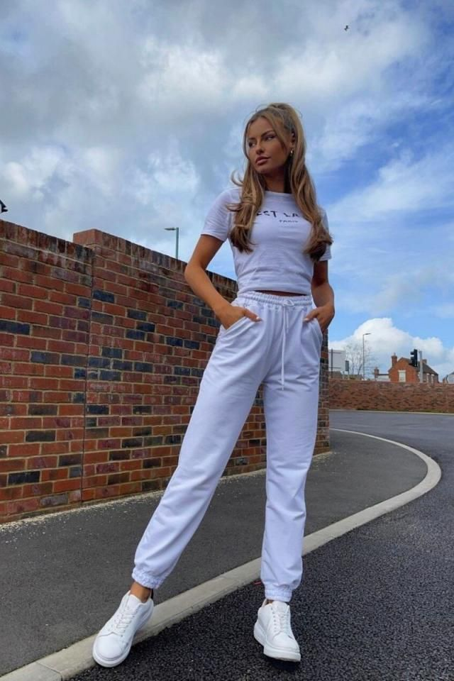 Ribbed Cinched High Waisted Pants Set