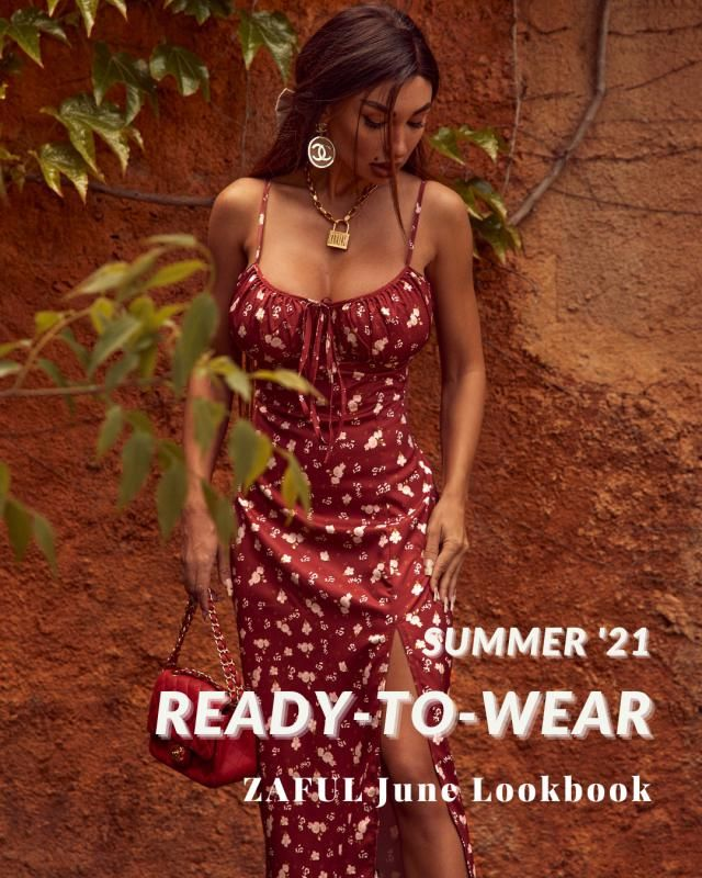 Ready-To-Wear  ZAFUL June Lookbook Check our new Lookbook and comment below with your fav look!