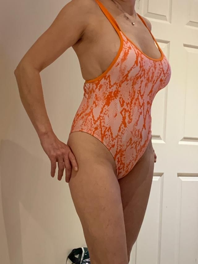 Fits well , True to size , Super cute Love this bikini. Can't wait to wear!