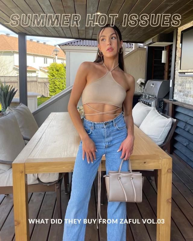Summer Hot Issues What did they buy from ZAFUL Vol.03 Check our new Lookbook and comment below with your fav look!
