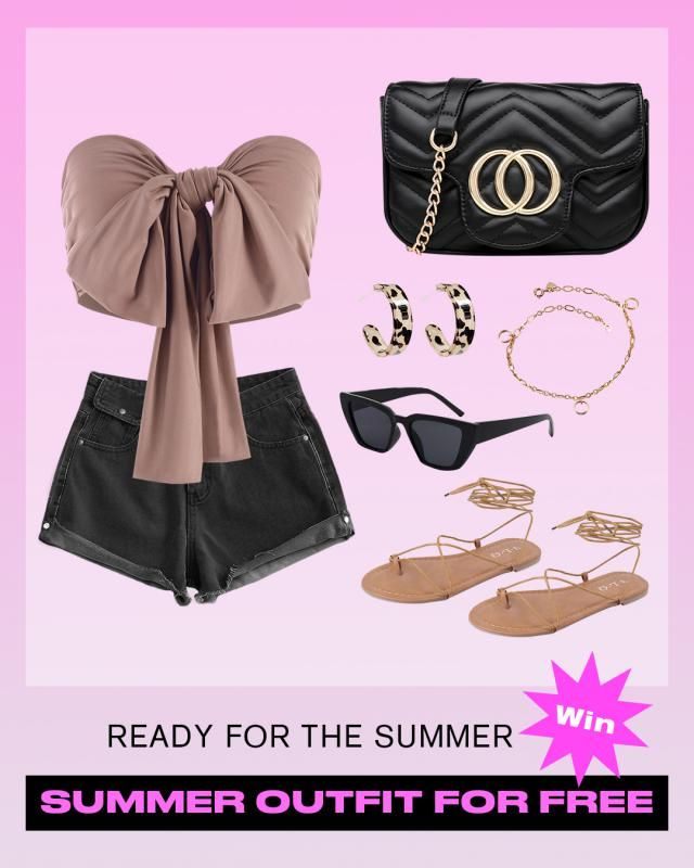 【 WIN Summer Outfit For FREE!】  Win your Summer outfit by styling your fav items!  HOW: 1. Create a summer outfit …
