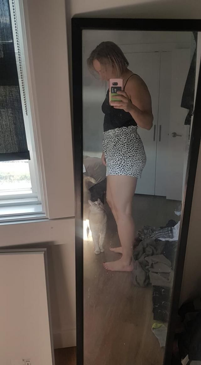 Love the fabric, looks exactly like the photos, but fits like a diaper :( very high rise I bought these to wear for sp…