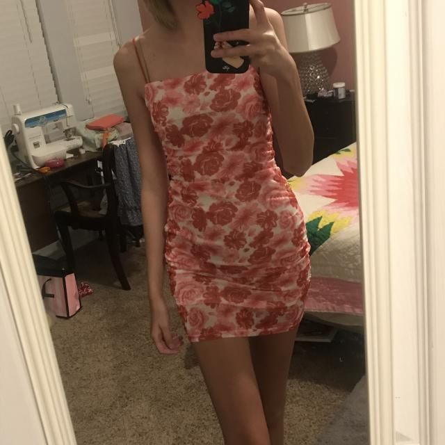 Super cute! Recommend wearing nude undergarments though, there is a lining but it is still sheer. Also the straps are …