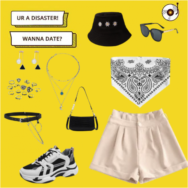 inspired by a casual summer date