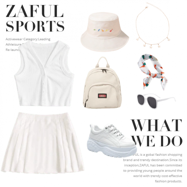 inspired by a tennis day with the girls
