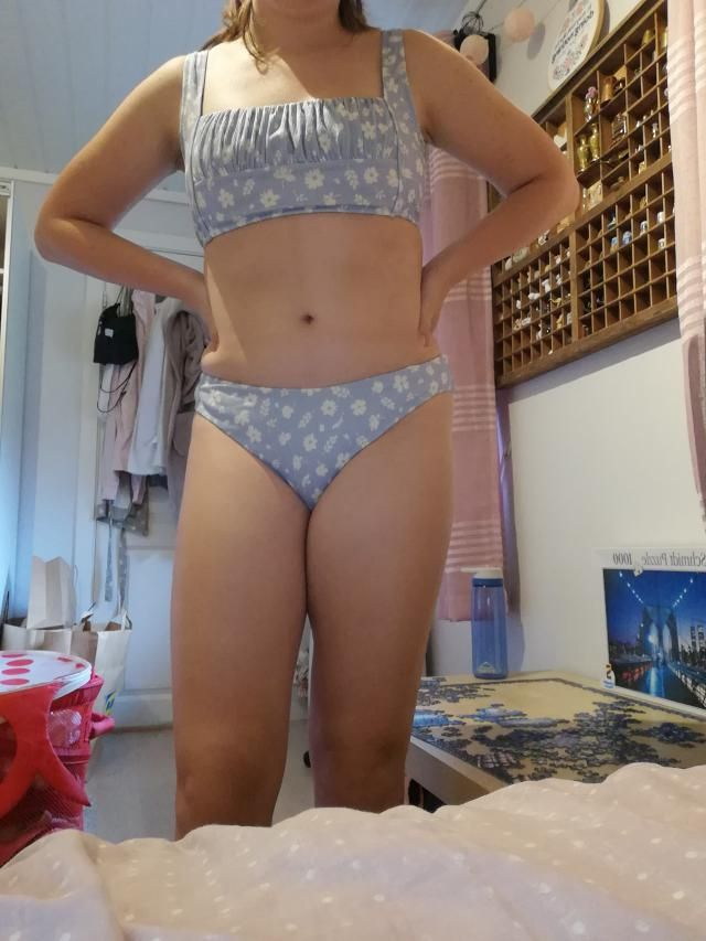 i love this bikini so much. it fit perfectly and the fabric is really nice