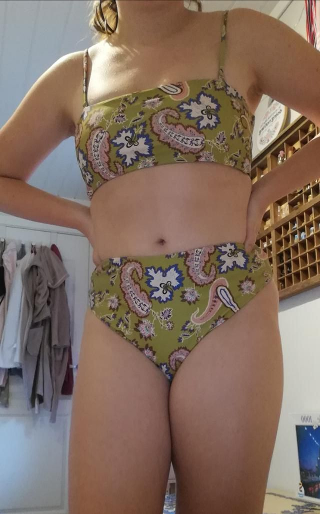 This bikini is amazing. It fit perfectly and looks and feels really good. If i were you i would definetly buy it.