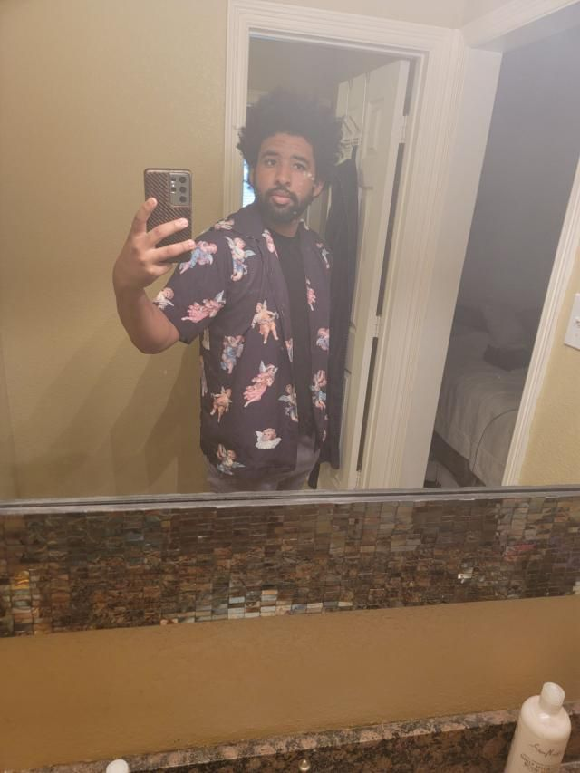 i have recieved many compliments wearing this shirt. Love the pattern and the fit.   Cool,love it