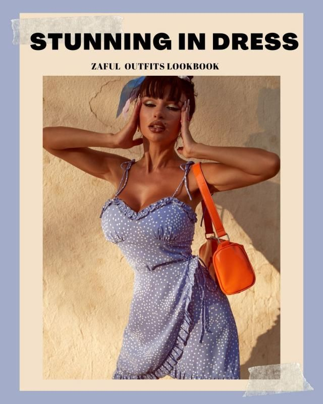 Stunning In French Retro Dress ZAFUL Dress Outfits Lookbook. Check our new Lookbook and comment below with your fav l…
