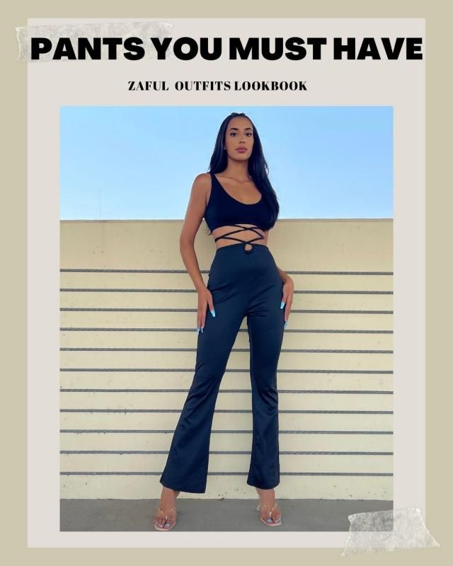 Pants You must have to Refresh Wardrobe ZAFUL X Maebawa Check our new Lookbook and comment below with your fav look!…