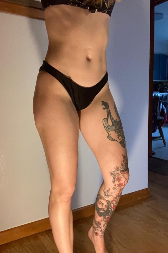 I love a simple black bikini that can go with other tops. Definitely cheeky but not the cheekiest that this site has t…