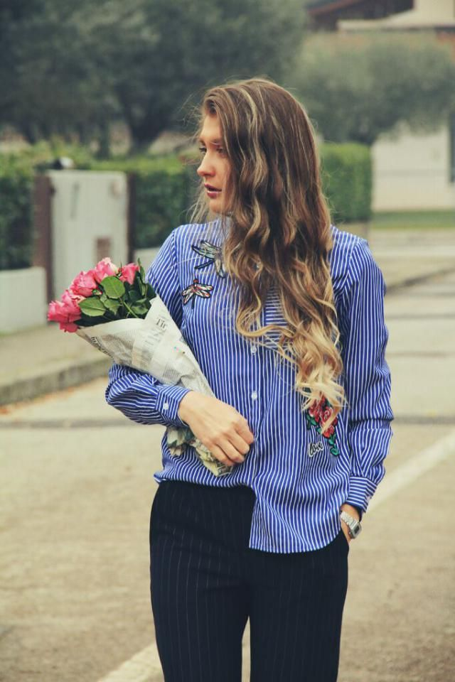 my favorite embroidered blouse