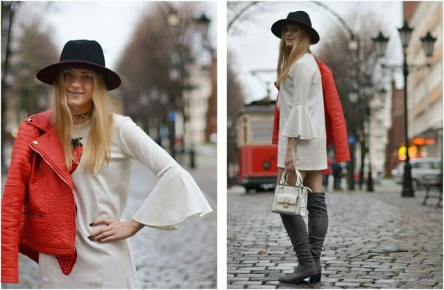 in love with zaful dress! Good outfit for sunny autumn day.