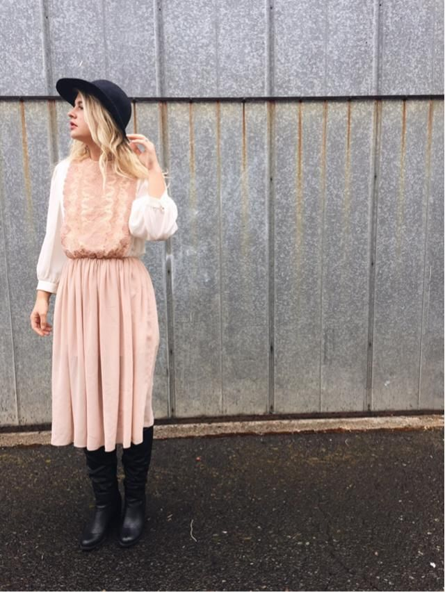 Dainty little stand out dress