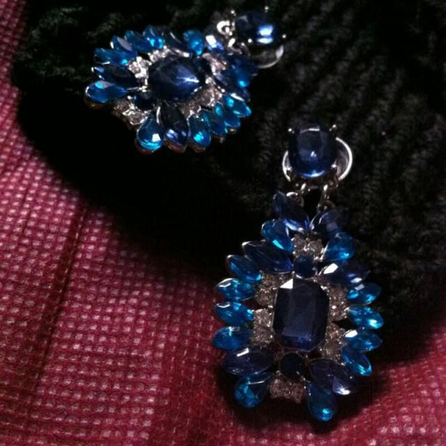 The most festive earrings for the season!  love these!