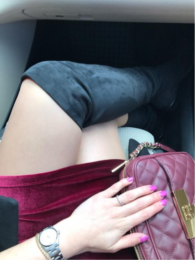 My over the knee boots