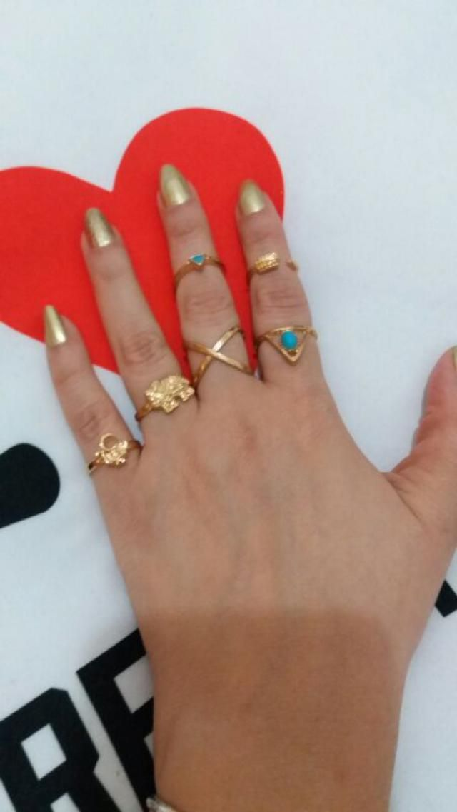 Details Ethnic Style Rings