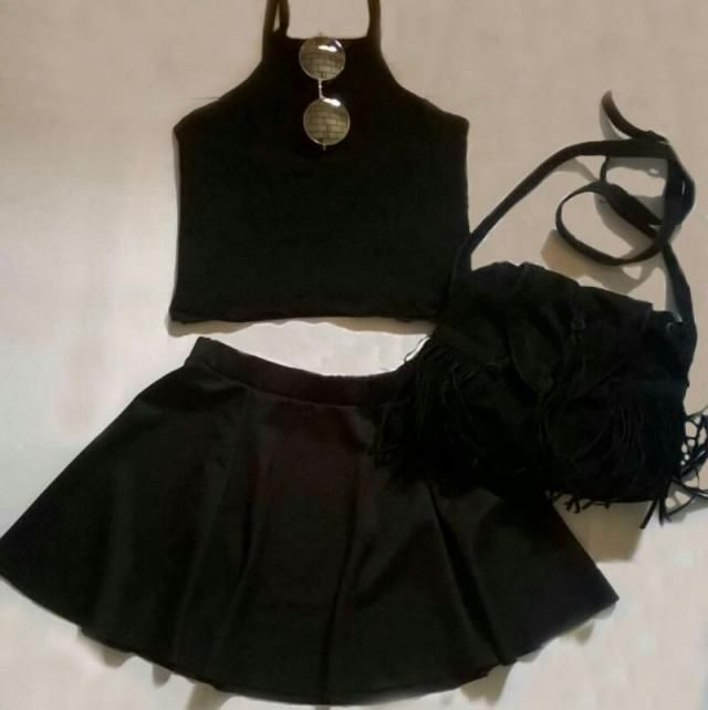 Total black outfit <3