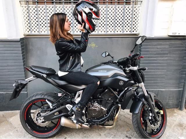 Happy day! I love my biker look